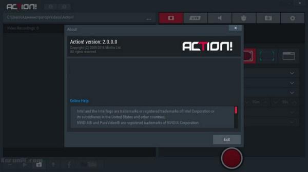 Mirillis Action! 4.10.5 Crack Plus Full Version 2020 Latest Here!
