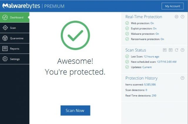 Malwarebytes Anti-Malware 4.1.0.56 Crack + Premium Keygen 2020